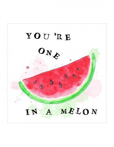 Serviette Melon
