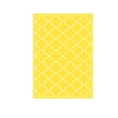 Küchentücher Gelb Muster