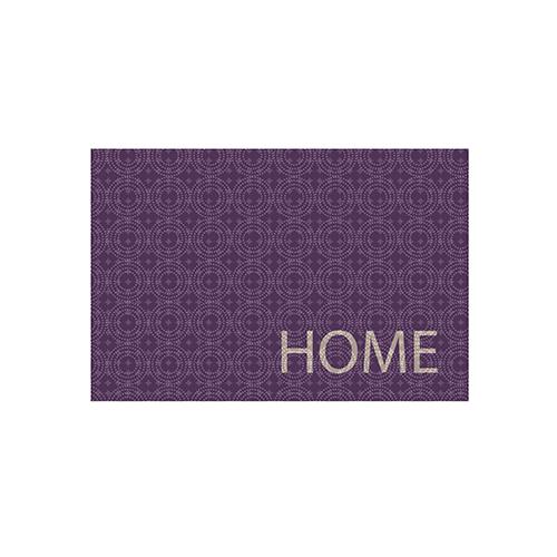 Fußmatte Home lila